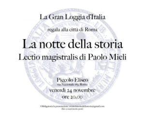 Paolo Mieli racconta la Massoneria nella storia d'Italia