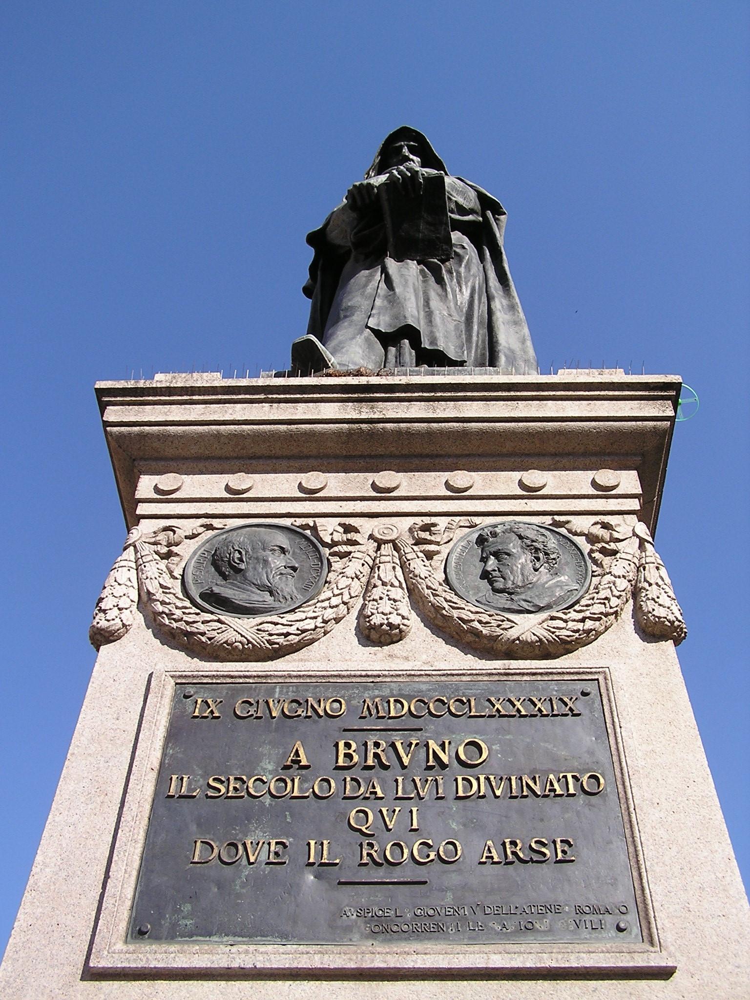 Con Giordano Bruno fu messa al rogo la Libertà di Pensiero