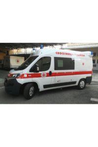 Cerimonia di consegna di un'ambulanza alla Croce Rossa Italiana comitato di Bologna