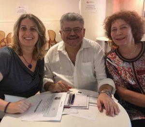 La Loggia Carducci di Firenze contribuisce con una donazione alla formazione professionale dei fisioterapisti per l'ATE (Associazione Toscana Emofilici)
