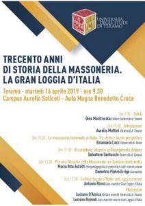 Trecento anni di storia della Massoneria. La Gran Loggia d'Italia