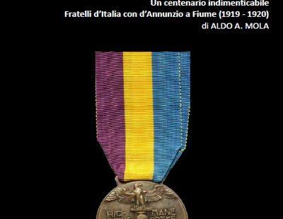 Fratelli d'Italia con d'Annunzio a Fiume