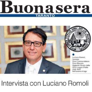 Taranto Buonasera - Intervista a Luciano Romoli