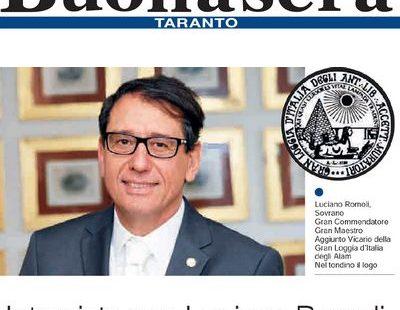 Taranto Buonasera – Intervista a Luciano Romoli