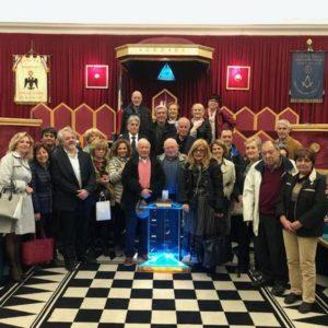 Porte aperte della sede della Gran Loggia d'Italia alle associazioni culturali