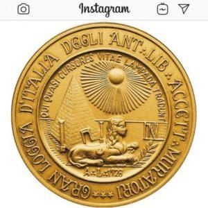 La Gran Loggia d'Italia su Instagram