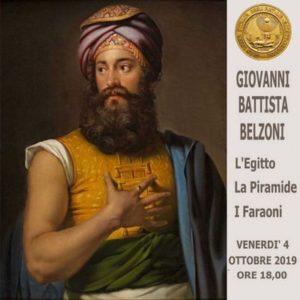 Giovanni Battista Belzoni - l'Egitto, La Piramide, i Faraoni