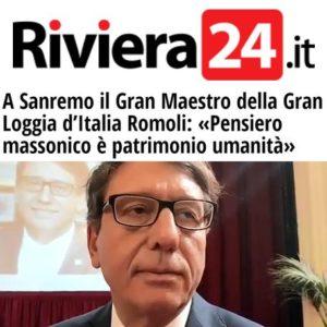 Riviera24.it - Intervista al Gran Maestro Luciano Romoli