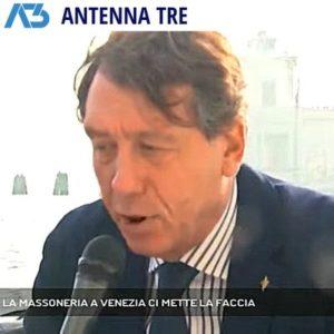 AntennaTre - La Massoneria a Venezia ci mette la faccia