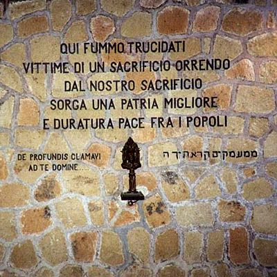 24 Marzo 1944 - Eccidio delle Fosse Ardeatine