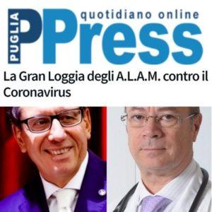 PugliaPress - La Gran Loggia degli A.L.A.M. contro il Coronavirus