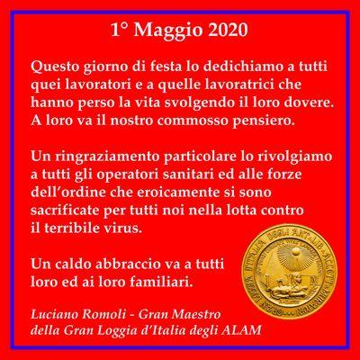 1° Maggio 2020