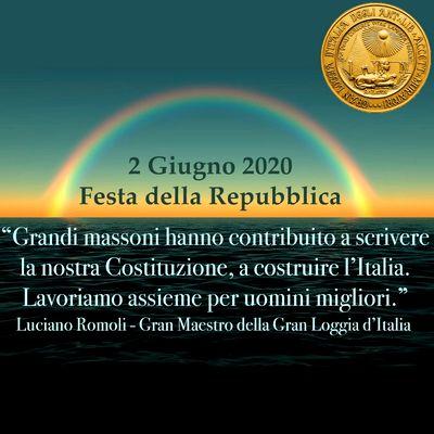 2 Giugno 2020 - Festa della Repubblica