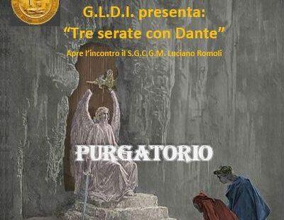 Tre serate con Dante – Purgatorio