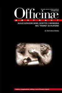 """Sullo scrivere bene: scritto e memoria nel """"Fedro"""" di Platone"""